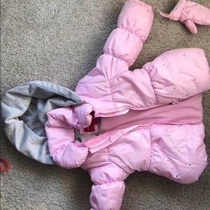 Pink girls coat 24 m & 3T